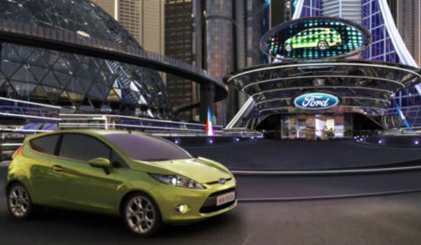 Virtual City – Ford Fiesta Launch