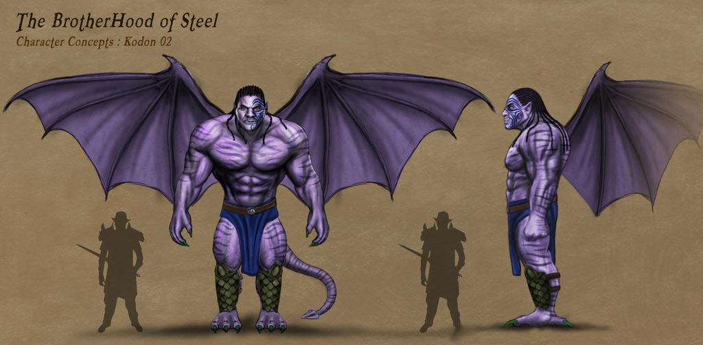 fantasy characters and creatures