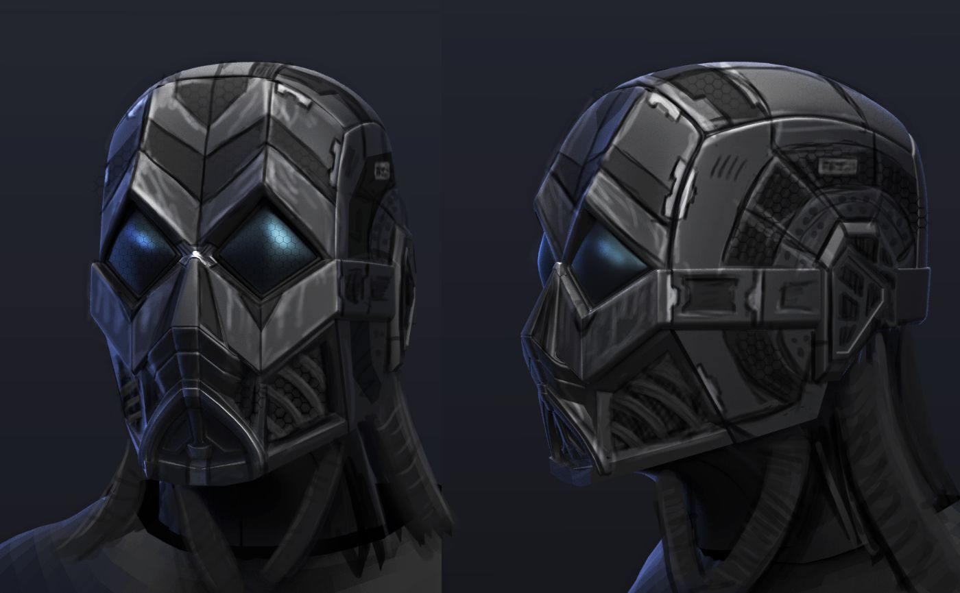 Concept Art Future Soldier Helmet
