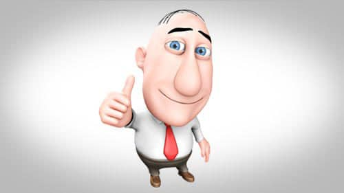 3D animated commercial character mascot