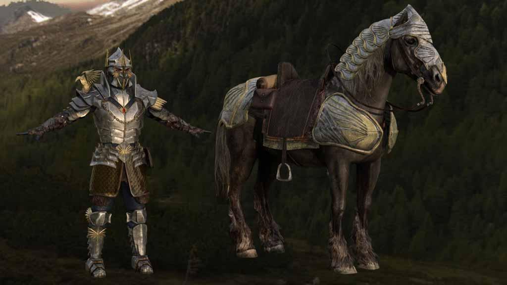 Triadon Knights fantasy characters