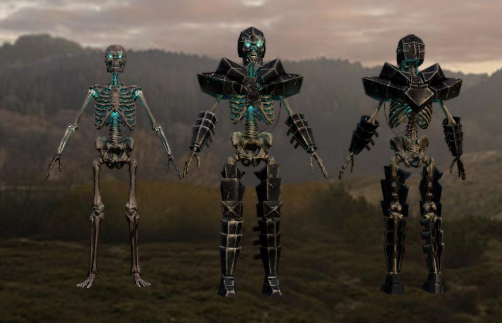 Skeletons - fantasy creatures