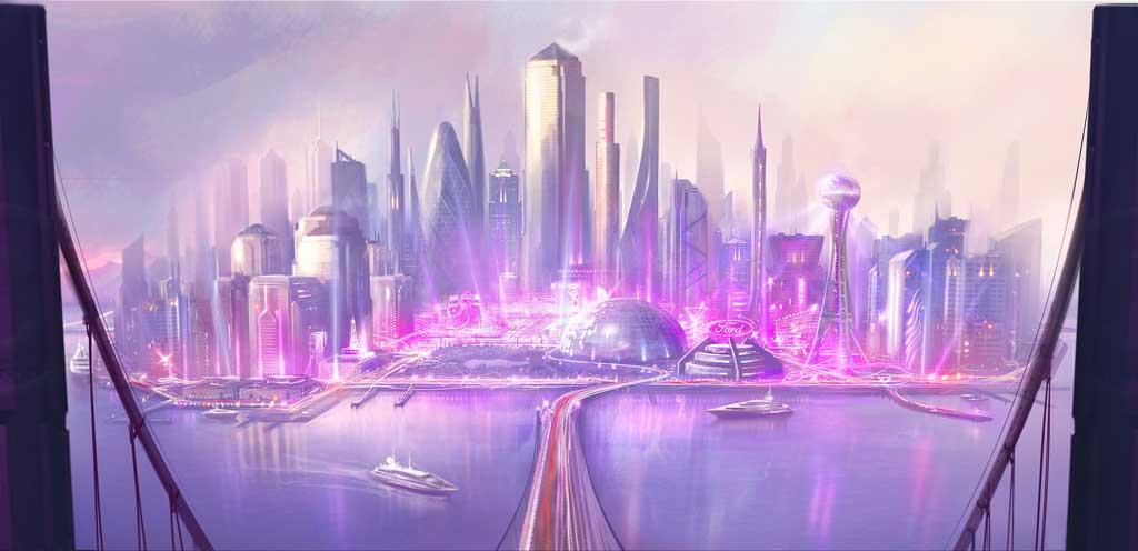 3D Virtual City