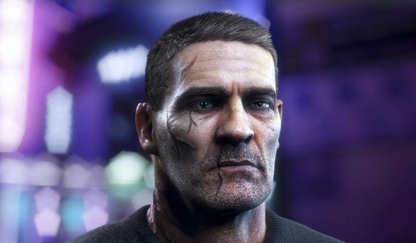 Dan Character 3D Head Model: Turntable