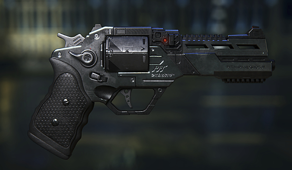 Sci-Fi Gun: Revolver Model