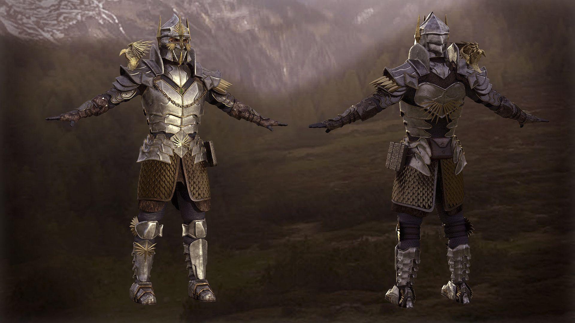 3D Fantasy Character Knight