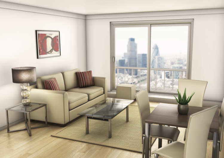 Lounge Architectural Visualisation