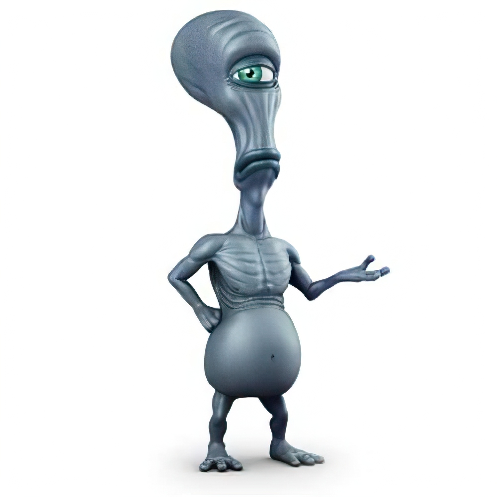 Animated Commercial - Alien Character Model